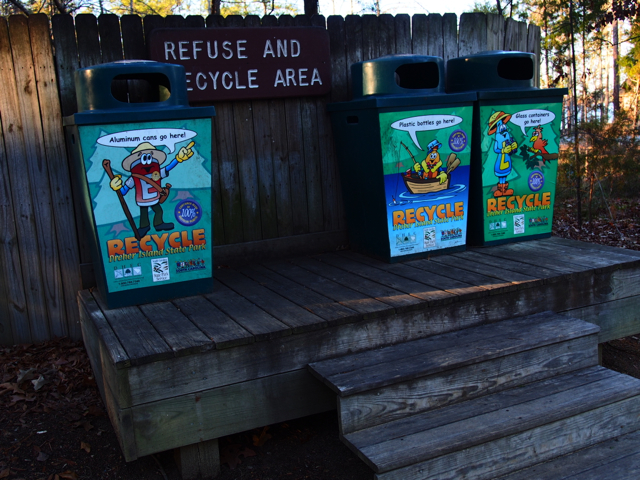 The Coolest Recycling Station Ever
