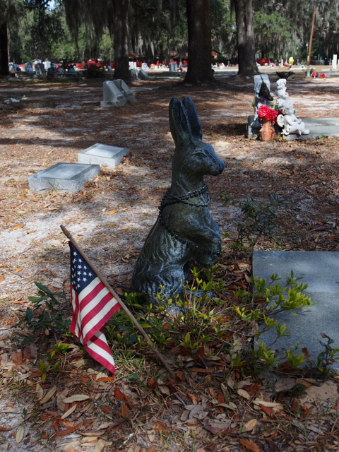 Rabbit Headstone