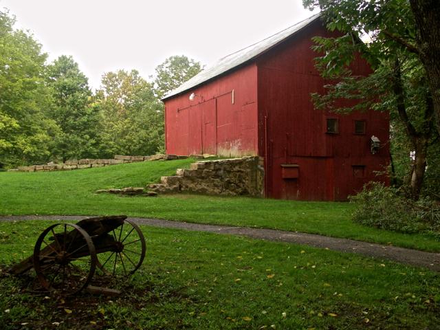 I Just Love A Big Red Barn