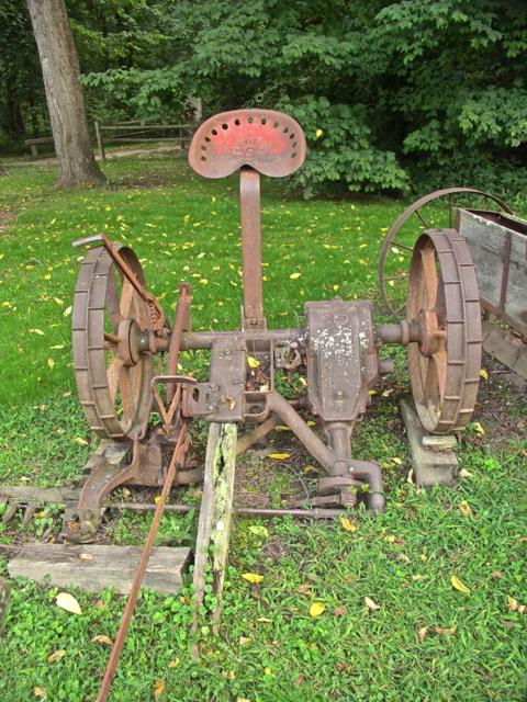 Old Farm Plow