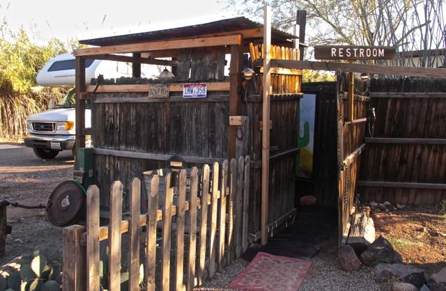 Restroom at El Dorado