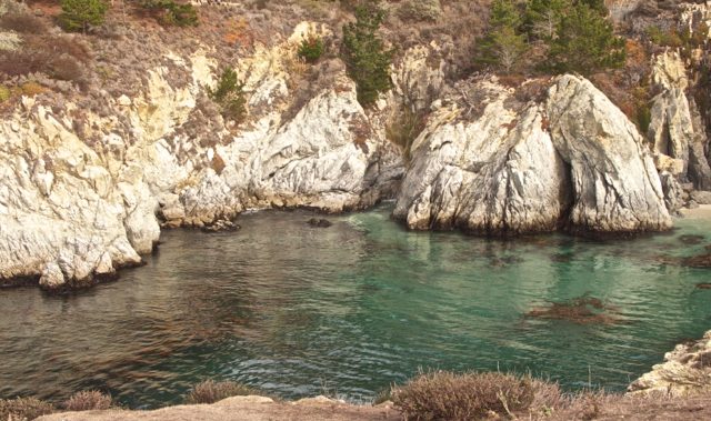 Turquoise Green Waters of Point Lobos