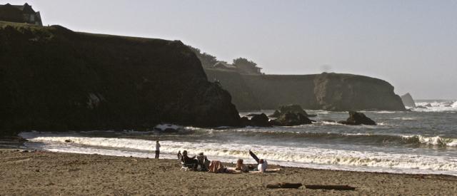 Some Sunny Day at Caspar Beach