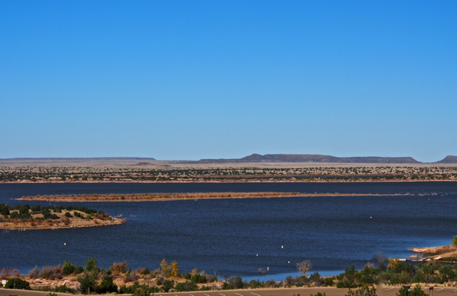 Santa Rosa Lake, New Mexico ~ created by a dam on the Pecos River