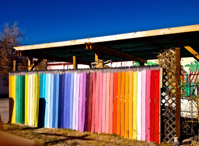A box of colored pencils?