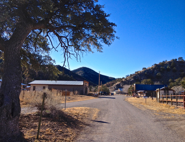Sparsely Populated Outback Town