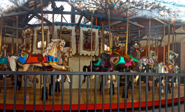 Antique Carousel You can still  take a ride summertimes