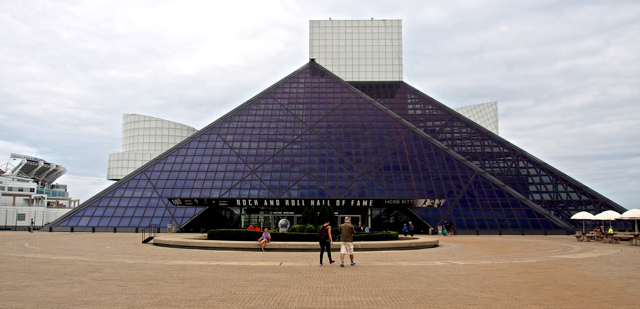 World famous architect, I.M.Pei, designed the Hall of Fame