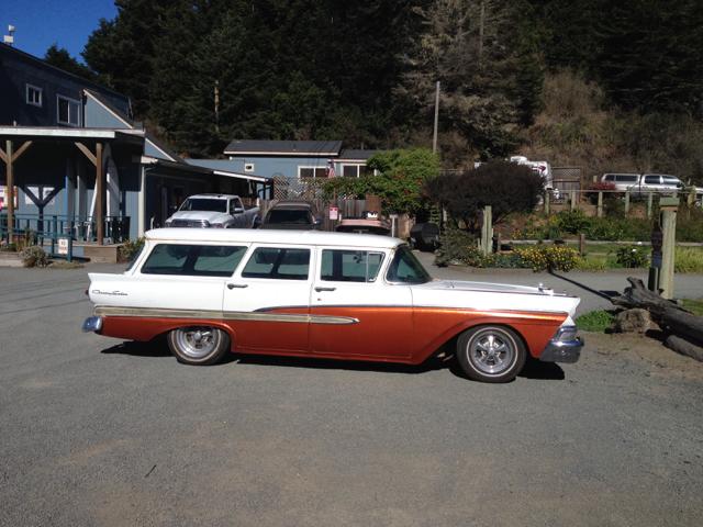 Vintage Country Sedan