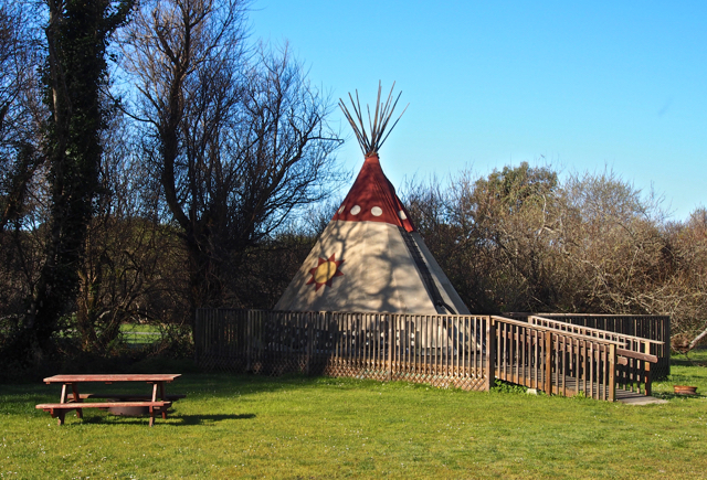 Tepee for rent in the park