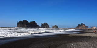 First Beach, part of the Quileute Indian Nation