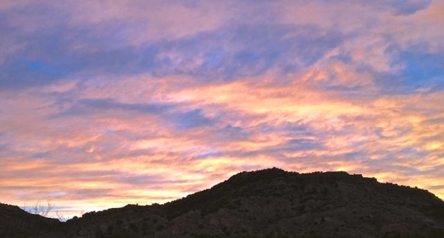 Dawn in Palo Duro Canyon
